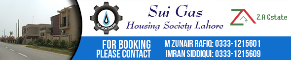 Sui Gas Housing Society Lahore