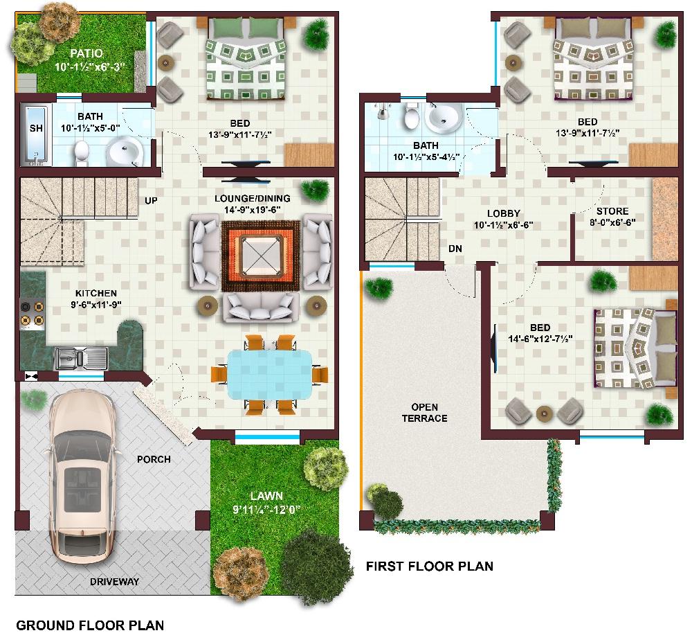 88+ 100 Gaj Plot Home Design - Home Map Design In India Best X Map ...