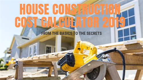 House Construction Cost Calculator in Pakistan 2019