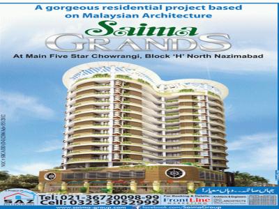 Saima Grands Apartments North Nazimabad
