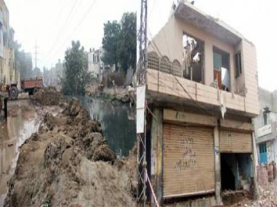 LDA Demolished illegal Properties in Approved Schemes