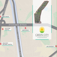 Green City Hyderabad Bypass Location Map